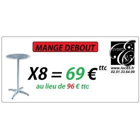 VIP PACK MANGE DEBOUT X8