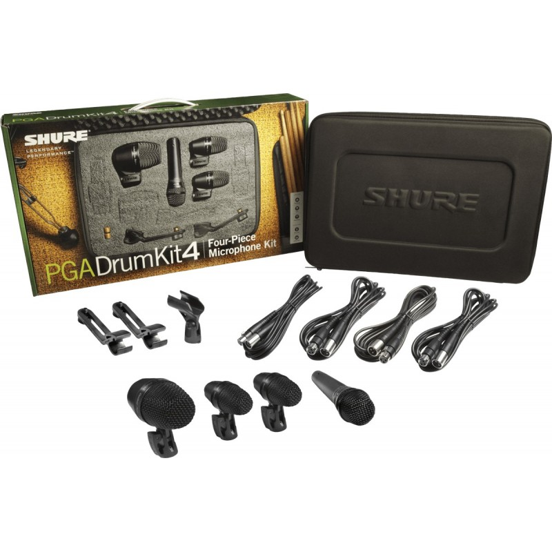 Location Shure PGA4 set de micros pour batterie