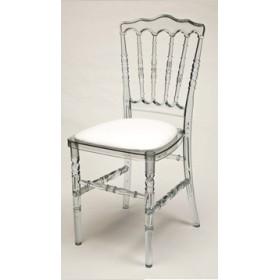 Location superbe chaise type napoléon transparente (vendée)