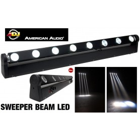 Location EFFET sweeper Beam Quad led