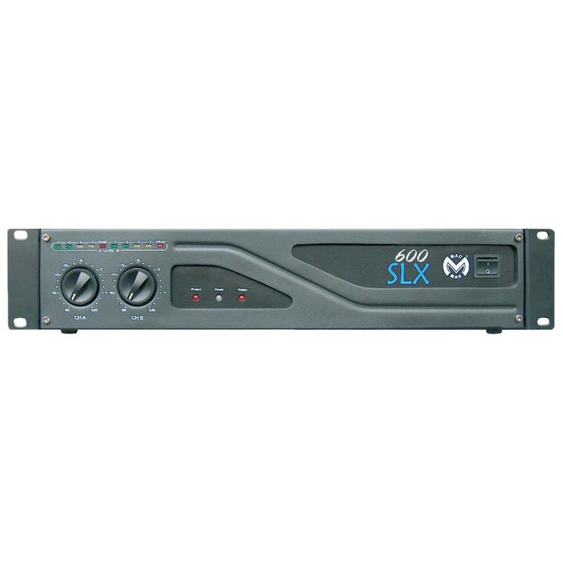 Location amplification MAC MAH SLX600II - 2*600 watts/4