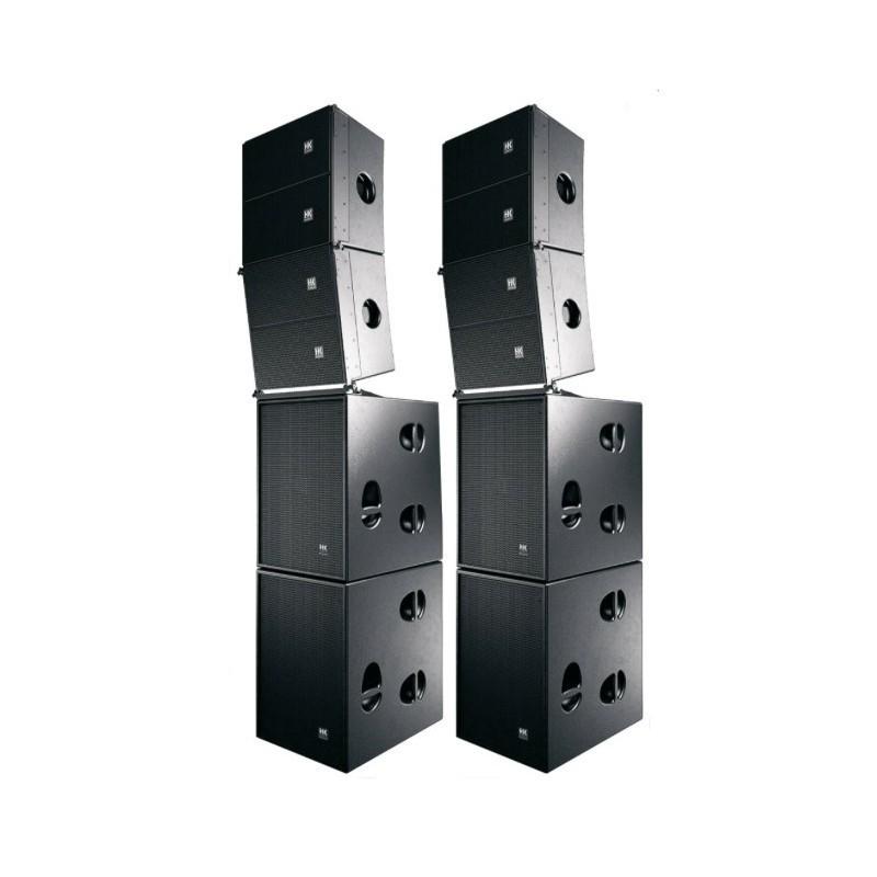 Système complet HK Contour Array amplifié