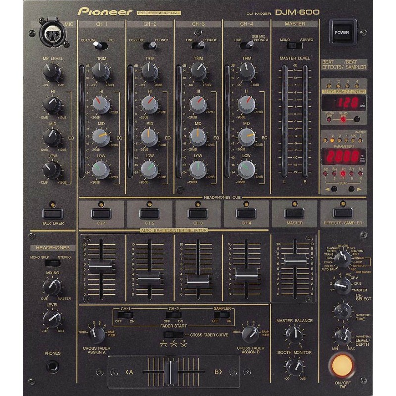 Location table de mixage PIONEER DJM600