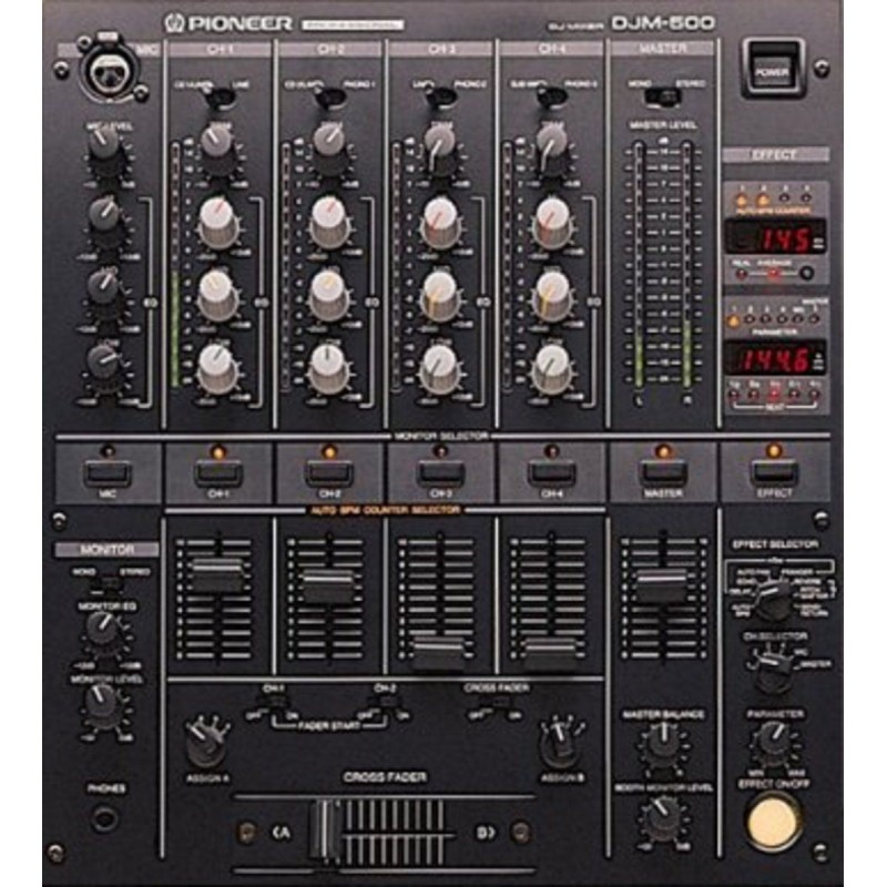 Location table de mixage PIONEER DJM500