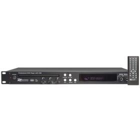 """Location Power Dynamics PDC150 Lecteur DVD 19"""", avec CD+G et USB"""