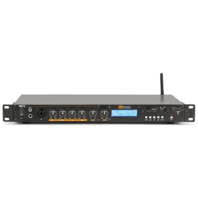Location Power Dynamics PDC75 Lecteur USB média avec enregistreur
