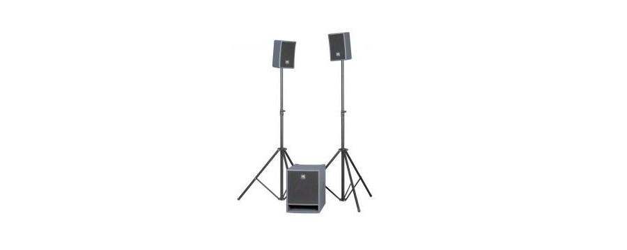 Petit système amplifié HK audio en location sono 85