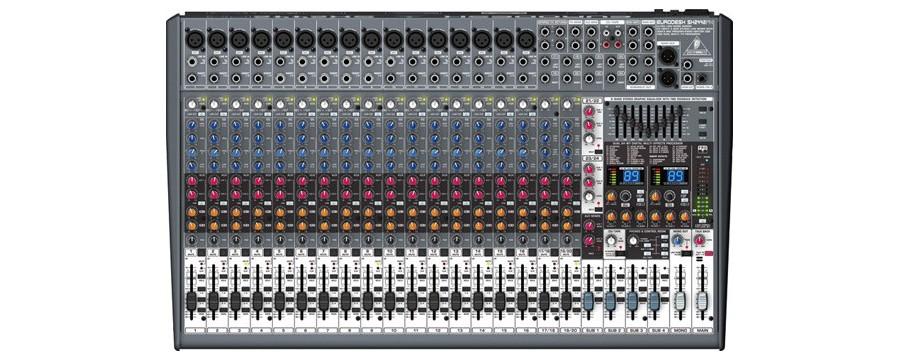 Console de mixage en location sono en Vendée