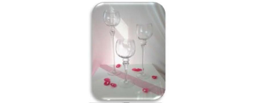 Location de verrerie, photophore, vase et chandelier mariage