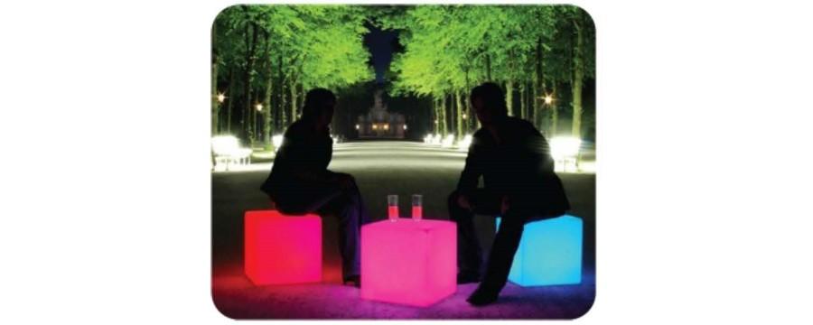 location cube à led pour vos receptions