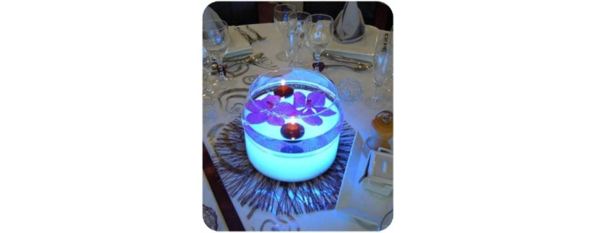 CENTRE DE TABLE LUMINEUX A LED